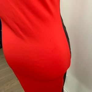 gracie Dresses - Gracie   Red Bodycon Dress (A79)